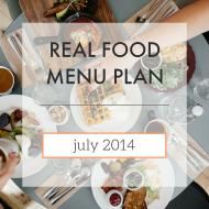 Menu Plan // July 2014