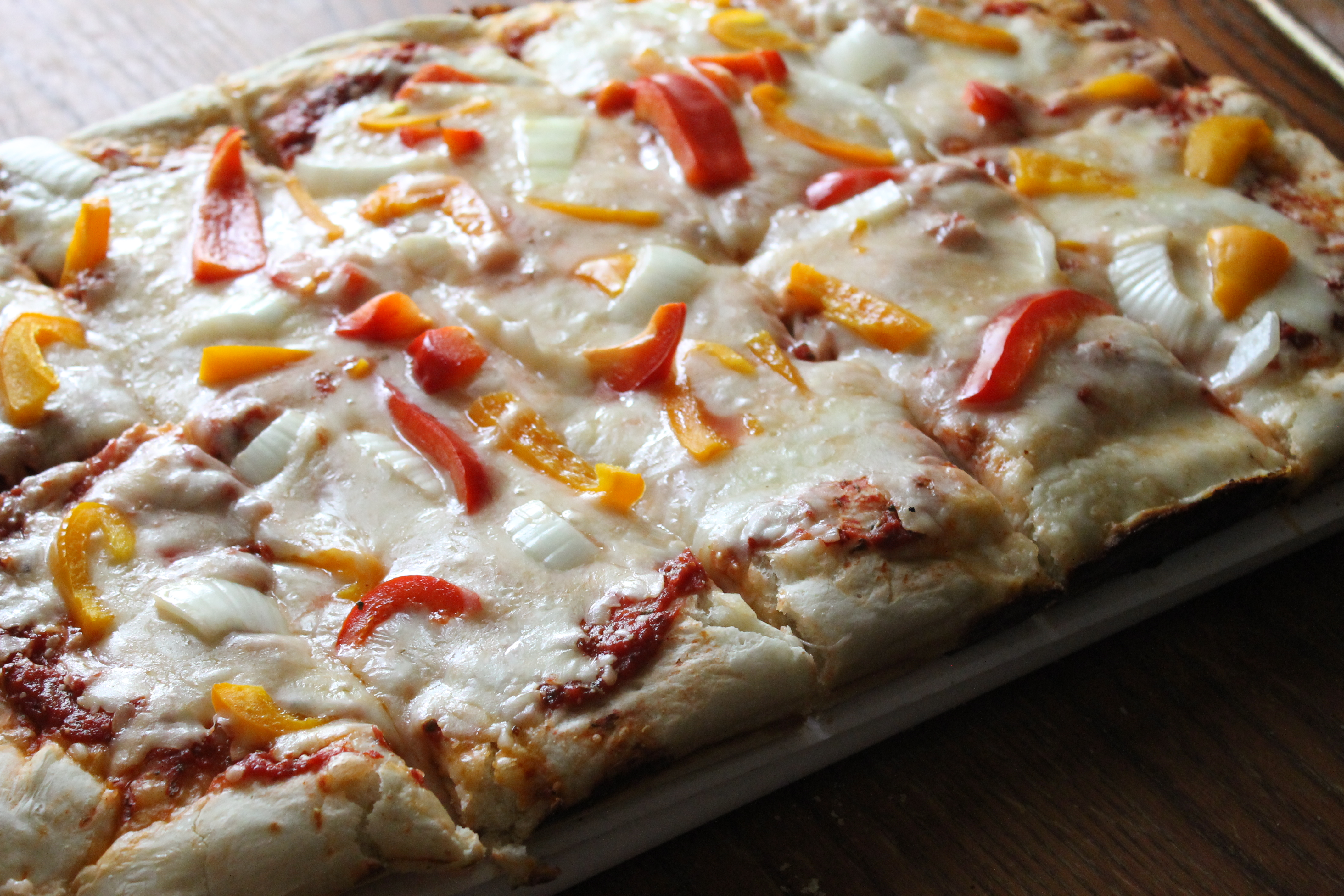 Healthy Homemade Pizza Crust  Natural Chow