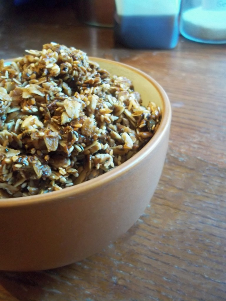 Homemade granola cereal natural chow so instead of buying cereal or even granola cereal kashi i make my own its so easy and i honestly dont understand why more people dont make it ccuart Choice Image