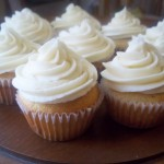 Healthy Vanilla Cupcakes From Scratch {With Real Buttercream Frosting}