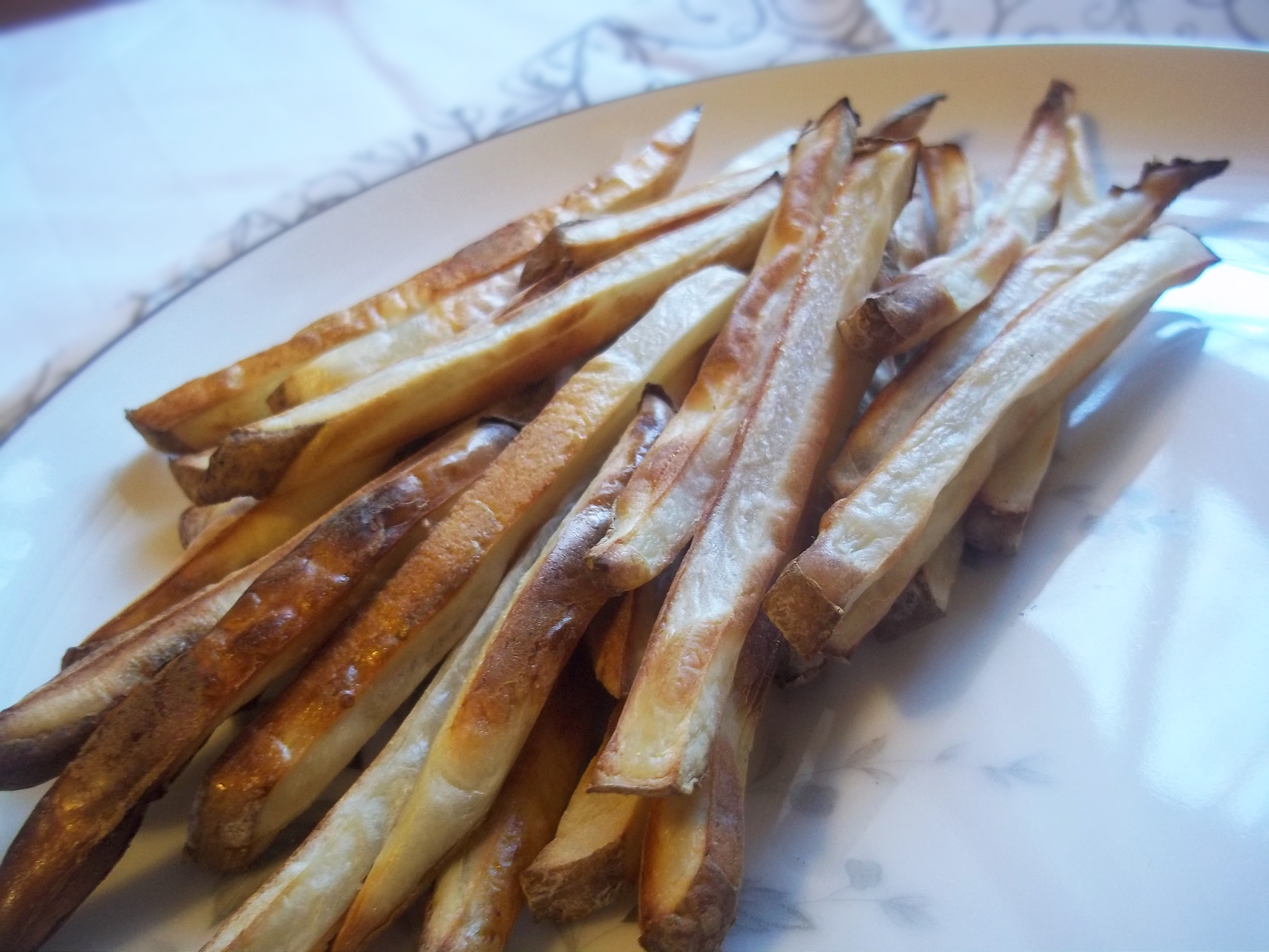 Simple Homemade Baked French Fries