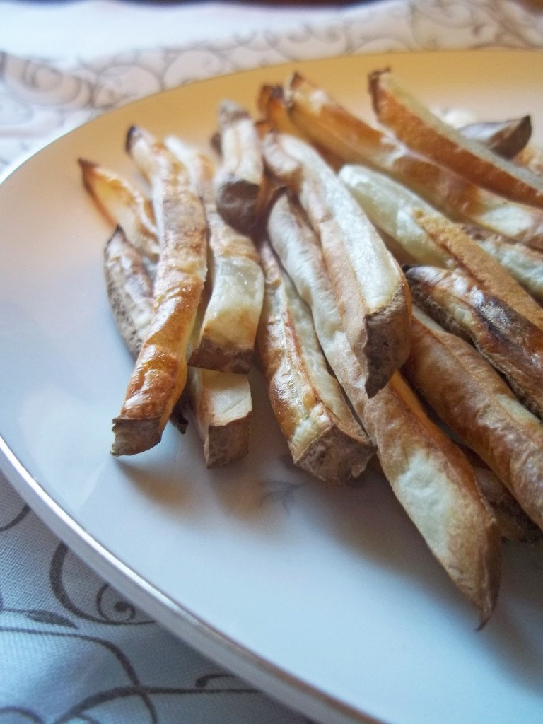 Simple Homemade Baked French Fries | Natural Chow