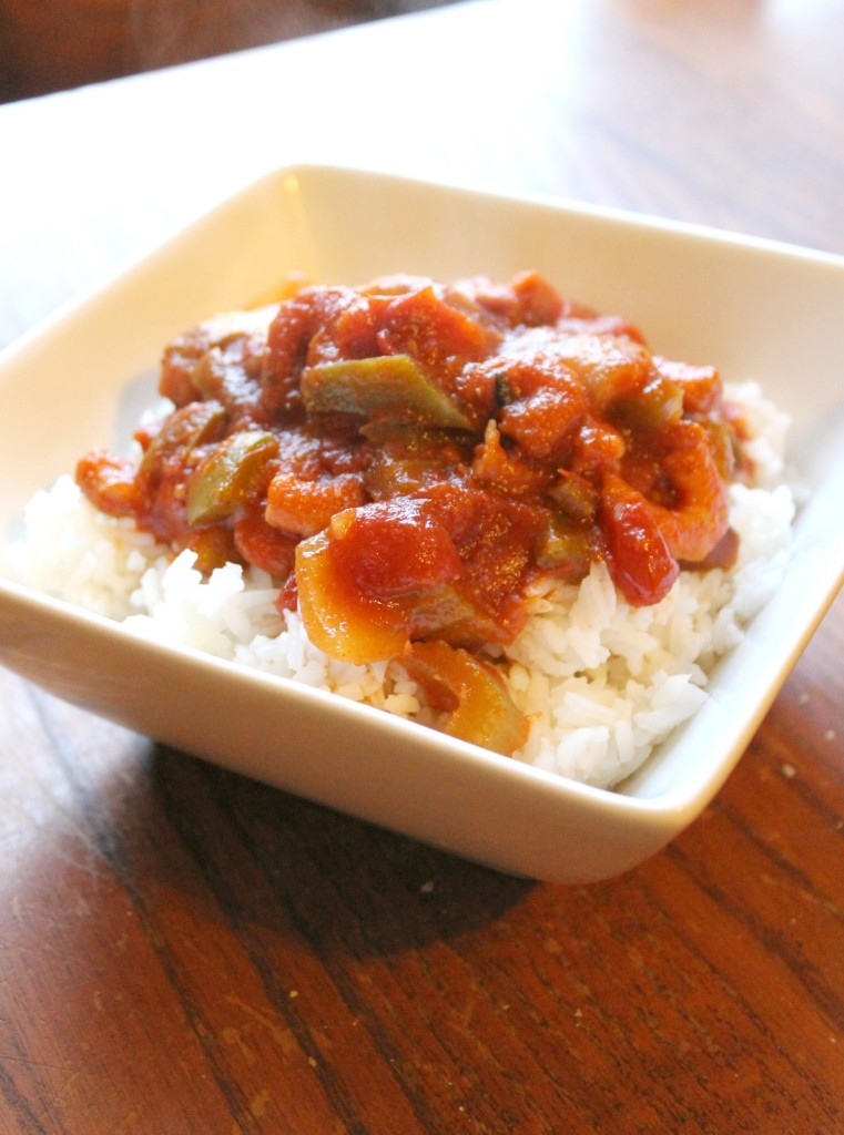 Slow Cooker Shrimp Creole | Natural Chow | http://naturalchow.com