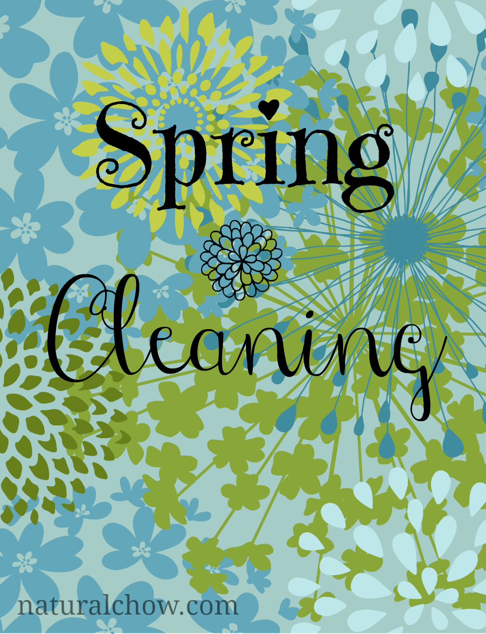Spring Cleaning (+ 12 Homemade All-Natural Cleaners)