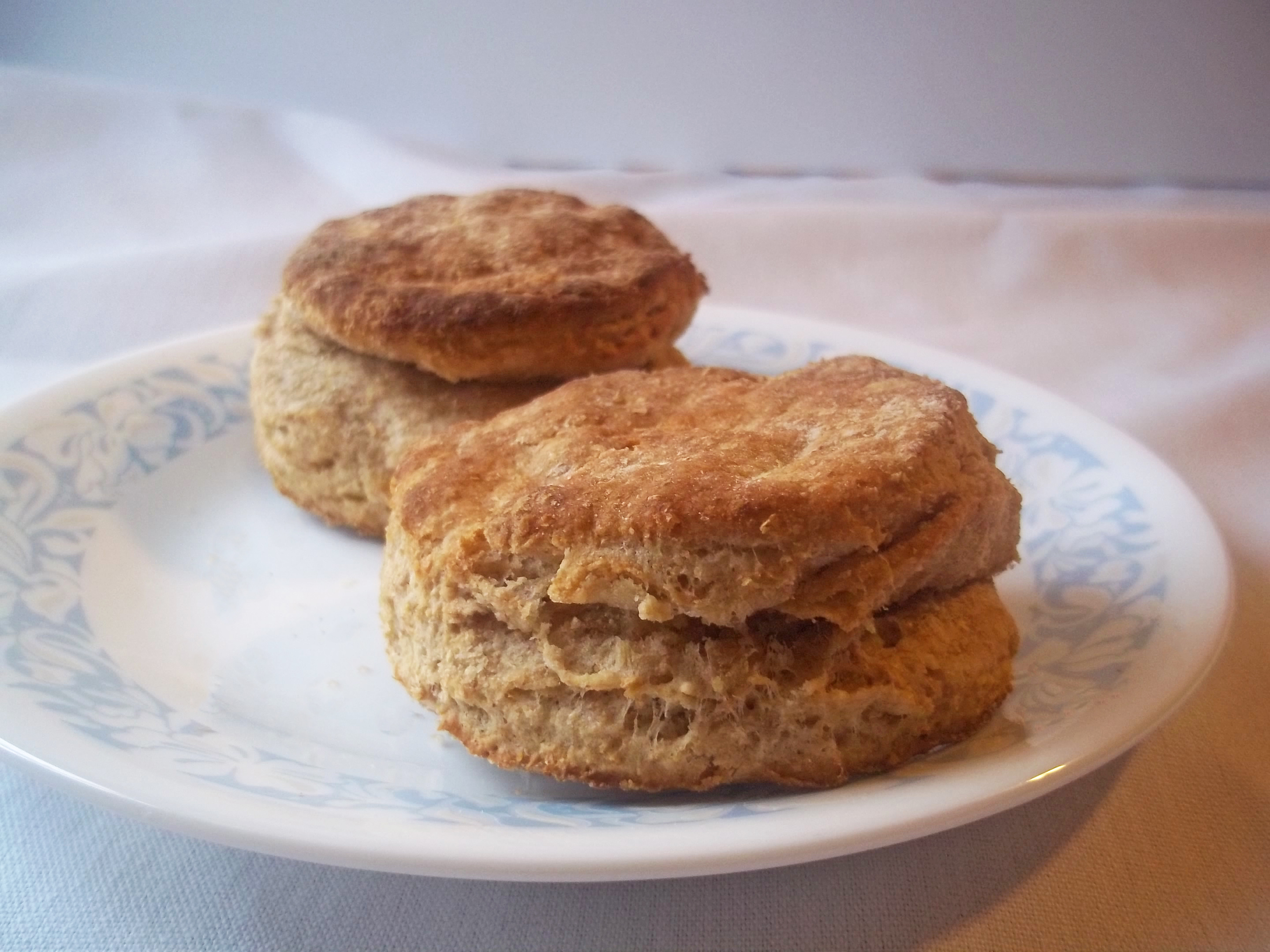 Flaky Whole Wheat Biscuits