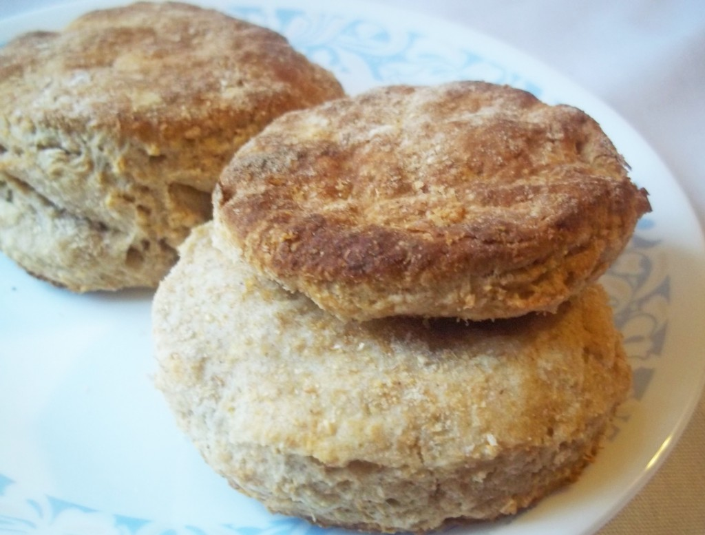 Flaky Whole Wheat Biscuits | Natural Chow | http://naturalchow.com