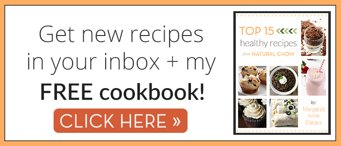 Subscribe to get new recipes and my free cookbook!