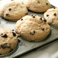 Whole Wheat Chocolate Chip Muffins