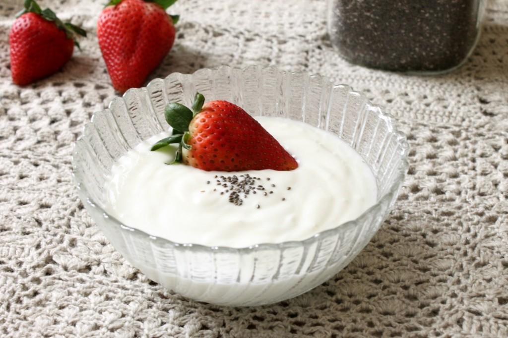 Easy Homemade Vanilla Yogurt | Natural Chow | http://naturalchow.com