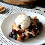 Perfect Whole Wheat Blackberry Cobbler | Natural Chow | http://naturalchow.com