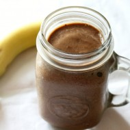Mocha Banana Milkshake