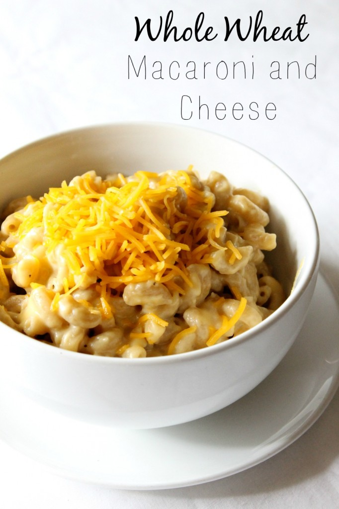 Creamy Whole Wheat Macaroni and Cheese | Natural Chow | http://naturalchow.com