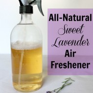 All-Natural Sweet Lavender Air Freshener
