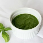 Basil Pesto {Without Nuts}