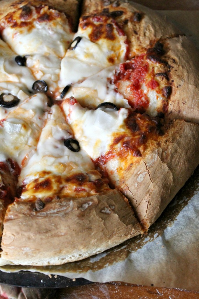 Perfect Homemade Pizza Crust | Natural Chow | http://naturalchow.com