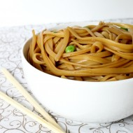 Simple Asian Sesame Noodles