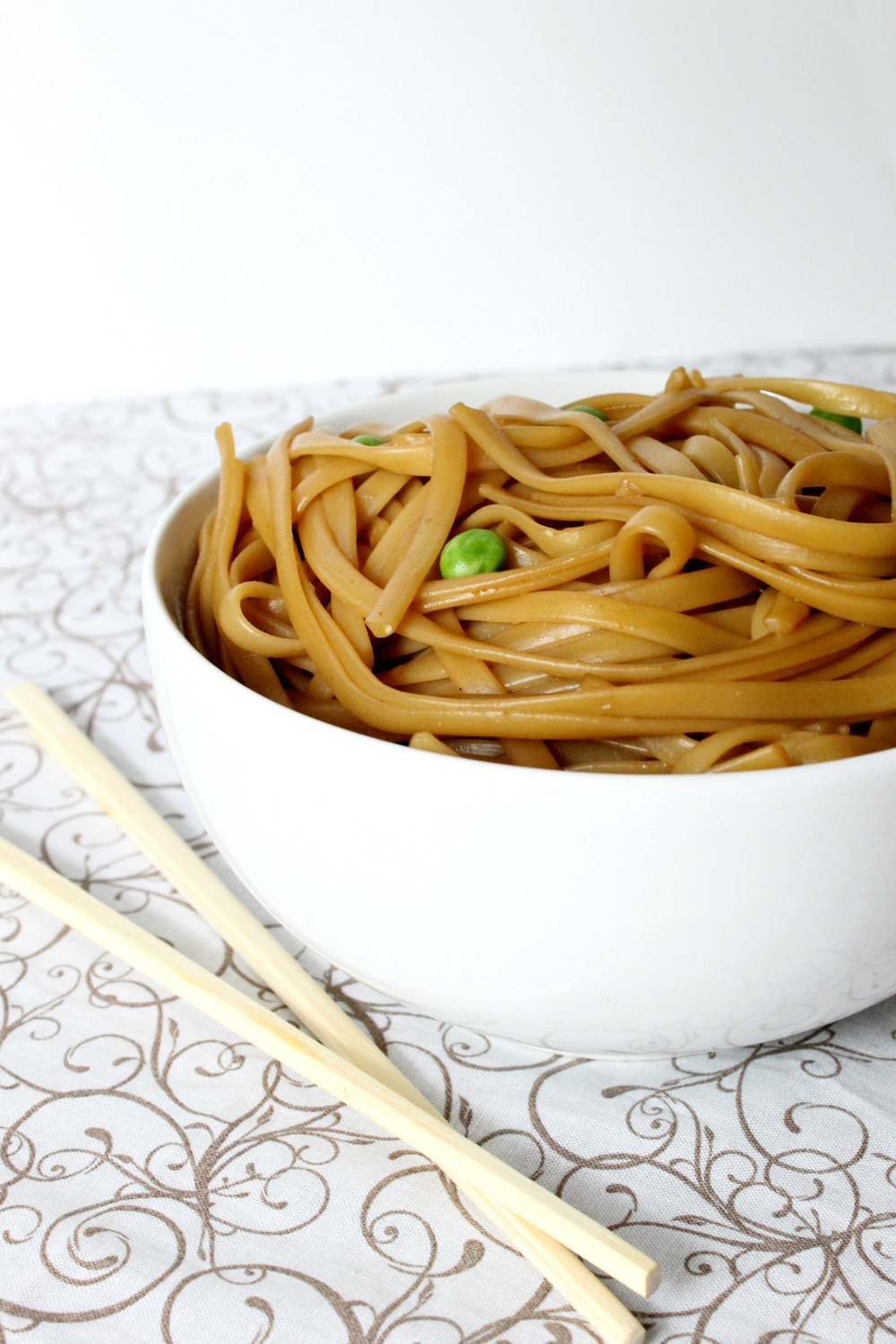 Simple Asian Sesame Noodles | Natural Chow