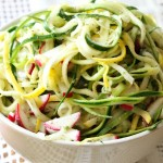Colorful Summer Squash Salad