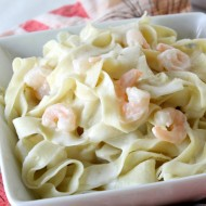 Creamy Homemade Shrimp Alfredo