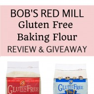Bob's Red Mill Gluten Free Baking Flour Review and Giveaway