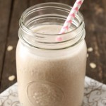 Skinny Banana Oatmeal Smoothie | Natural Chow | http://naturalchow.com