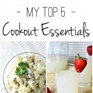 My Top 5 Cookout Essentials