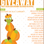 Southern Fall-tastic Giveaway