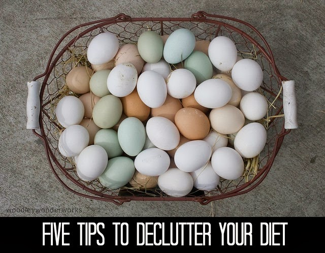 Five Tips to Declutter Your Diet from Methodical Living