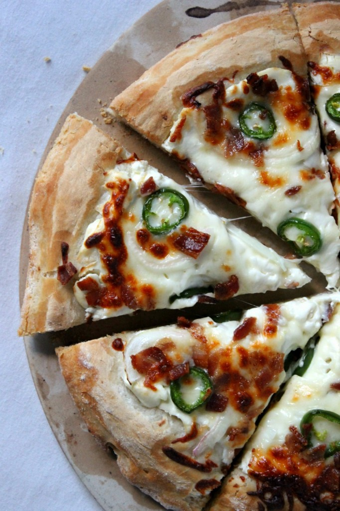 Jalapeño Popper Pizza | Natural Chow