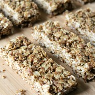 Maple Peanut Butter Granola Bars