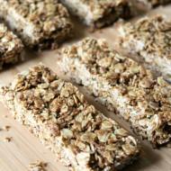 Maple Peanut Butter Granola Bars