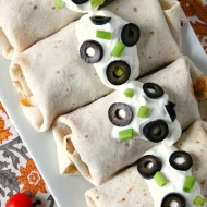 Easy Baked Chicken Chimichangas