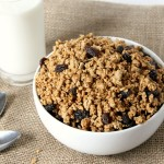 Cinnamon Raisin Peanut Butter Granola Cereal