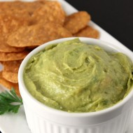 Homemade Guacamole { + A Review of Food Should Taste Good Chips}