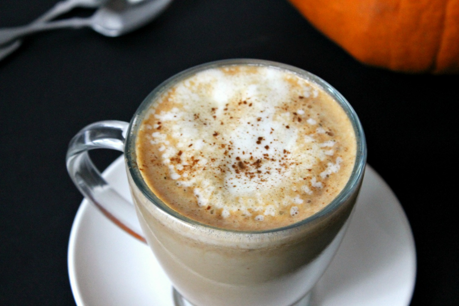 homemade pumpkin spice latte natural chow