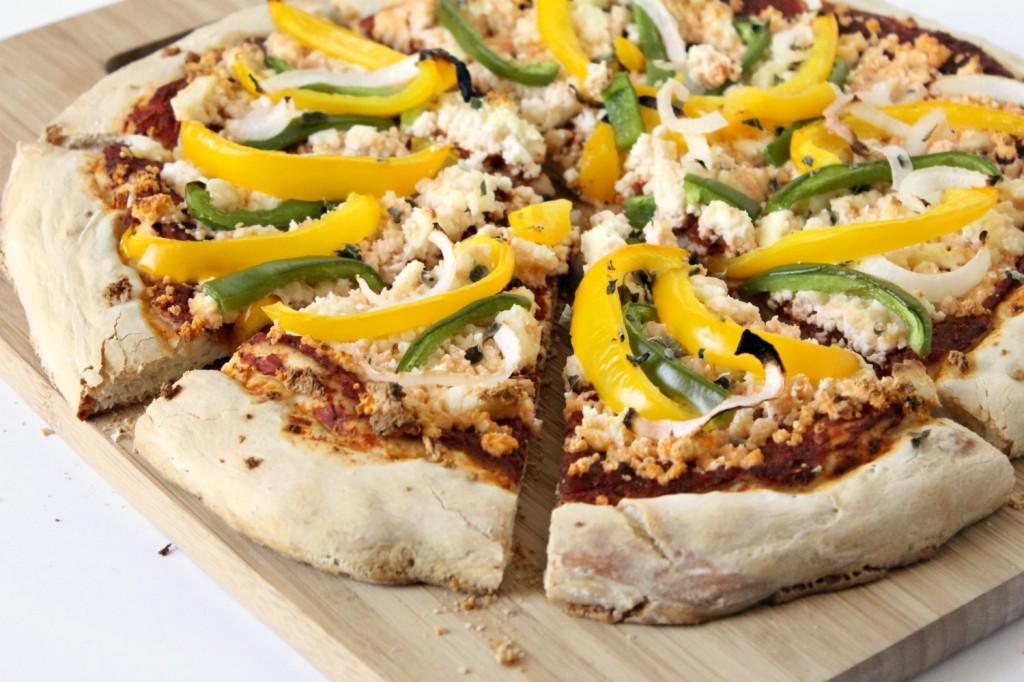 Holy Basil Indian Veggie Pizza | Buddha Teas