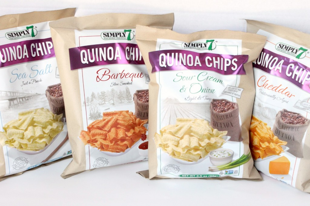 Simply 7 Quinoa Chips Review | Natural Chow #healthy #snacks