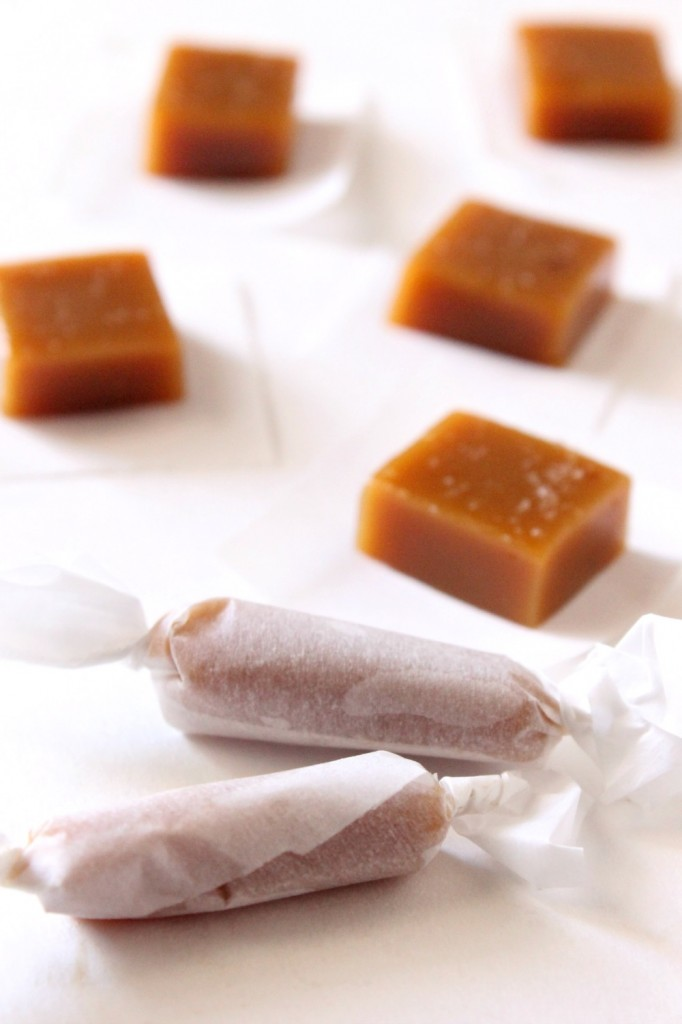 Salted Honey Caramels | Natural Chow | http://naturalchow.com