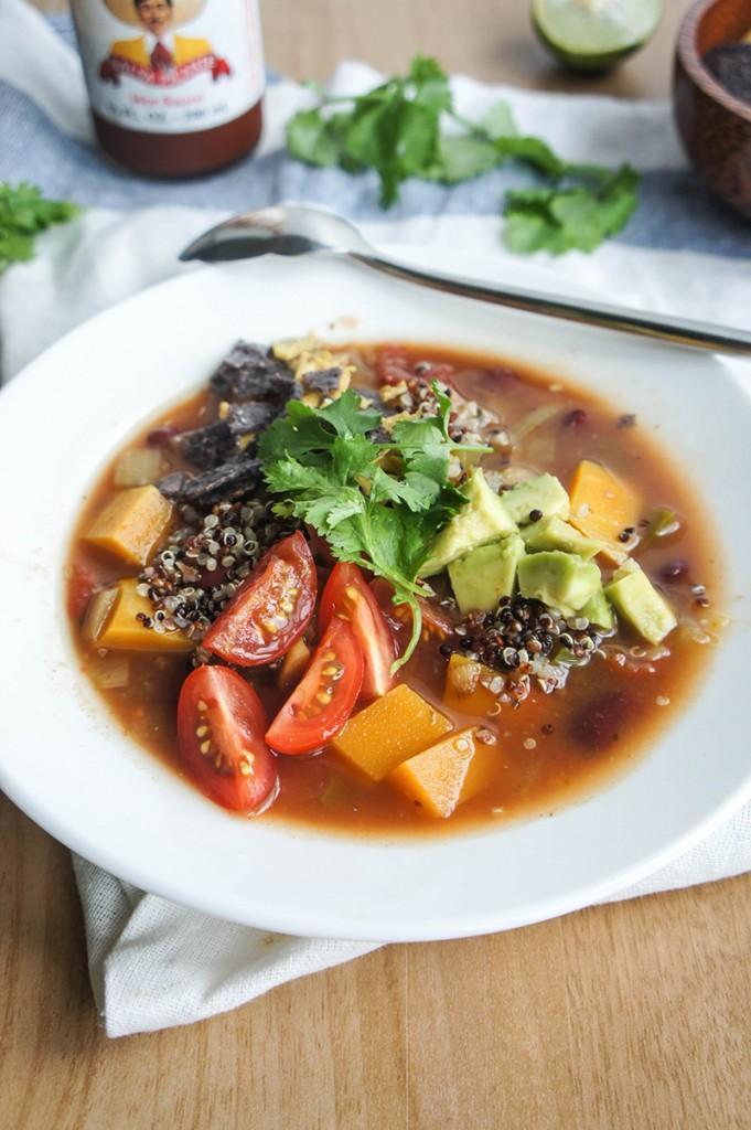 SW Butternut and Quinoa Soup | Vitamin Sunshine #healthy