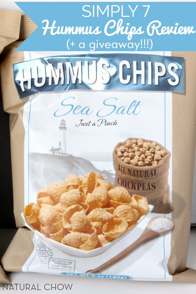 Simply 7 Hummus Chips Review | Natural Chow via @margaretdarazs #healthy #chips #snacks http://naturalchow.com