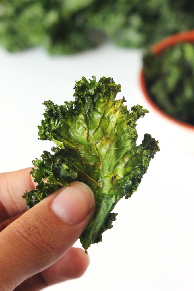 Crispy Kale Chips Natural Chow