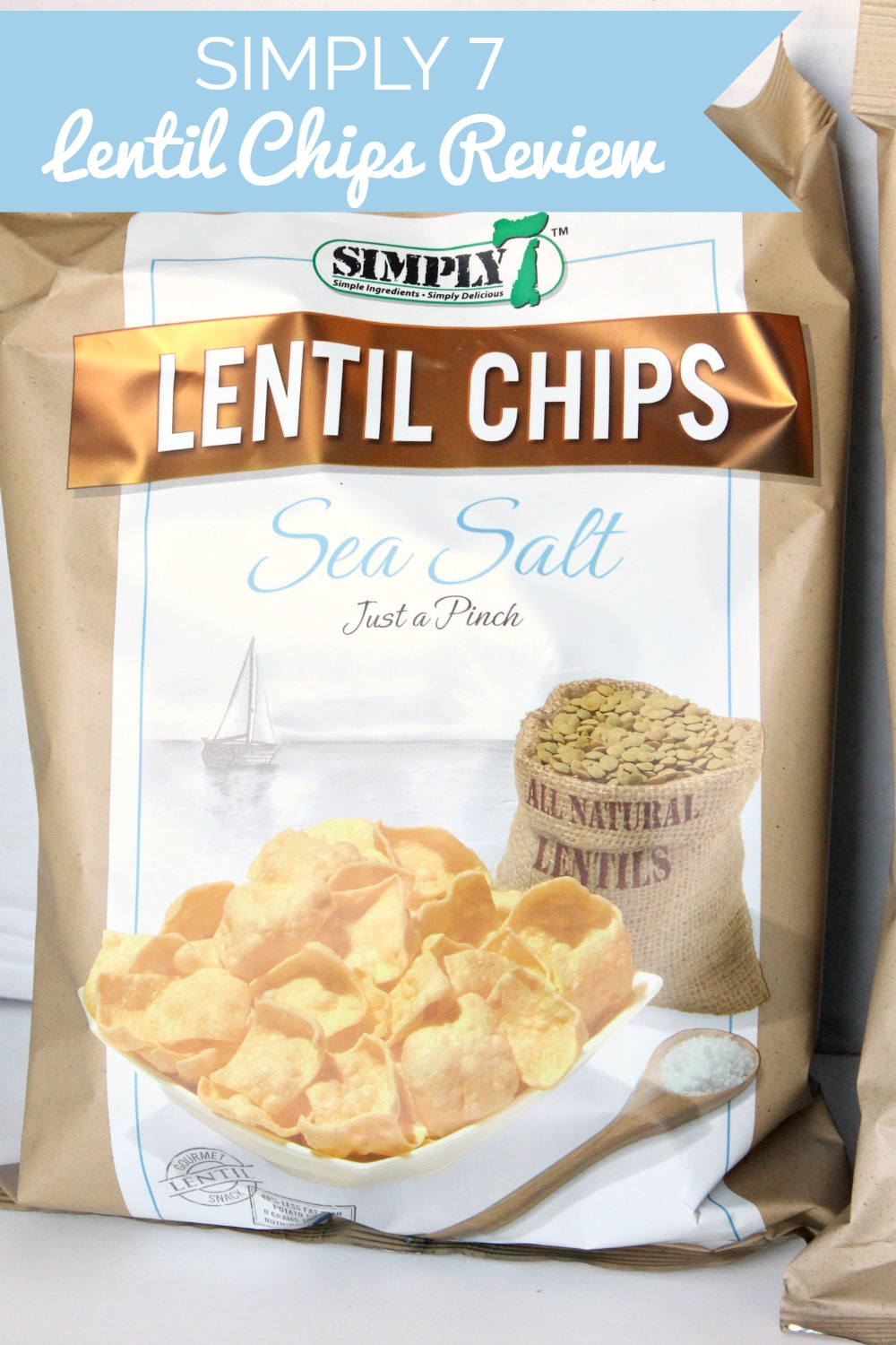 Simply 7 Lentil Chips Review Natural Chow