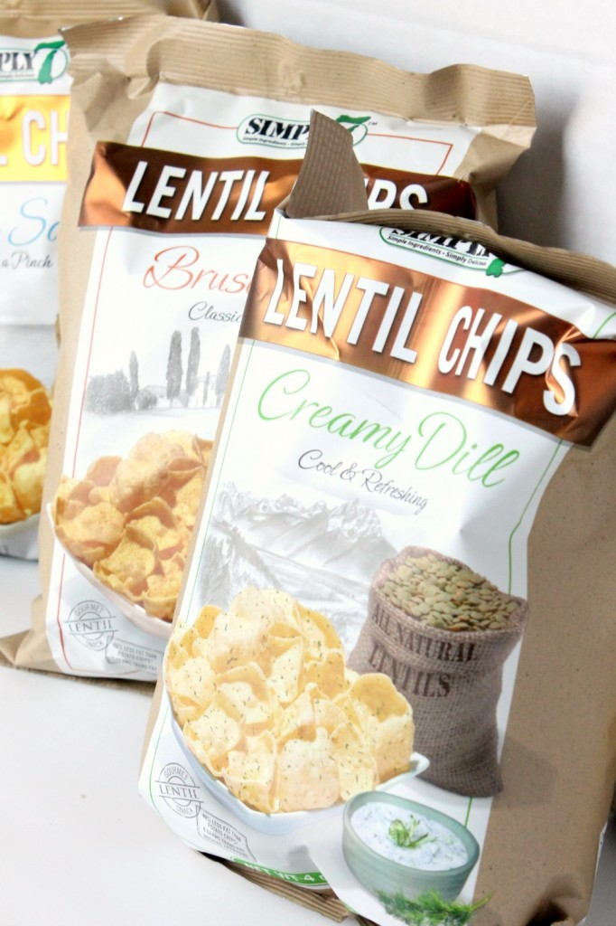 Simply 7 Lentil Chips Review | Natural Chow via @margaretdarazs #healthy #chips #snacks http://naturalchow.com