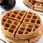 Fluffy Whole Wheat Waffles