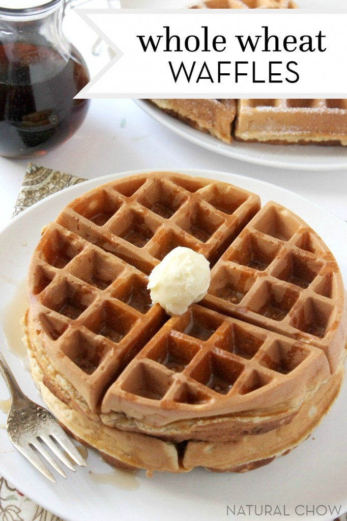 whole wheat peanut butter whole wheat waffles with whole wheat peanut ...