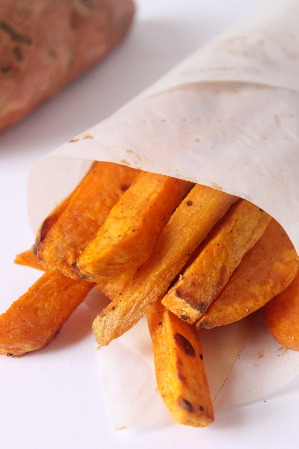 Baked Sweet Potato Fries | Natural Chow