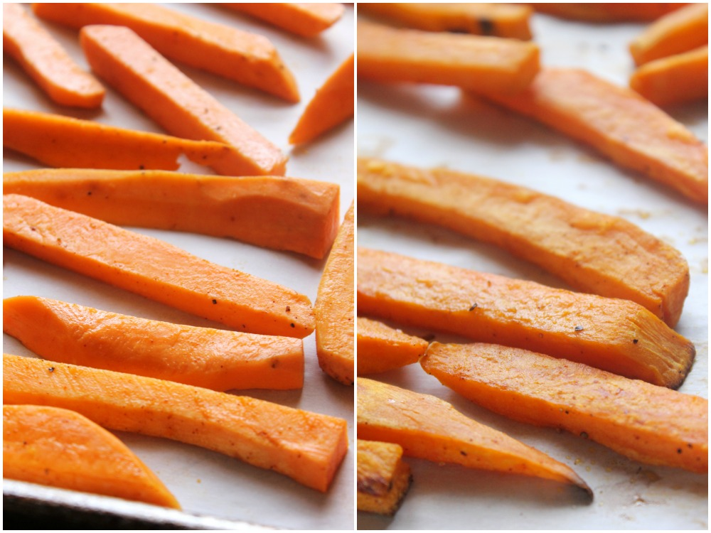 The BEST Baked Sweet Potato Fries you will ever eat! // Natural Chow