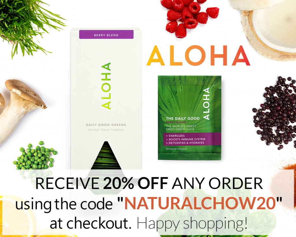 ALOHA Promotion | Natural Chow