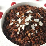 Double Chocolate Coconut Granola
