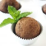 Mint Chocolate Almond Energy Bites